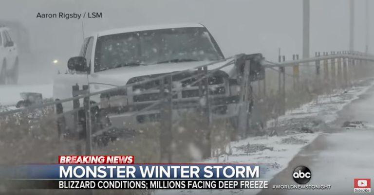 Tormentas de invierno masivas para las llanuras