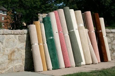 carpet rolls photo