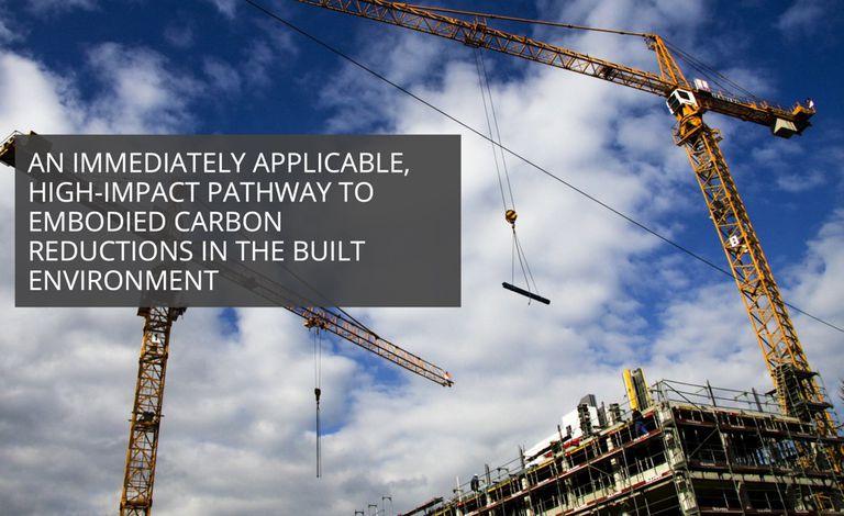 Architecture 2030 va tras el carbono incorporado y esto es un gran negocio