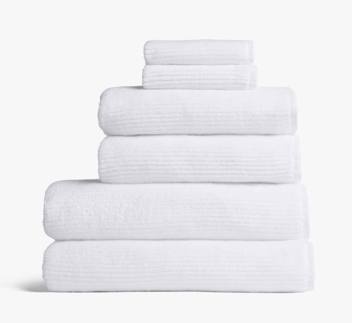 Parachute Soft Rib Towels