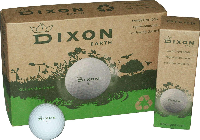 Boxes of Dixon Earth golf balls