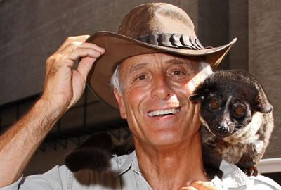 Jack Hanna At The ''Late Show With David Letterman'' - May 5, 2010