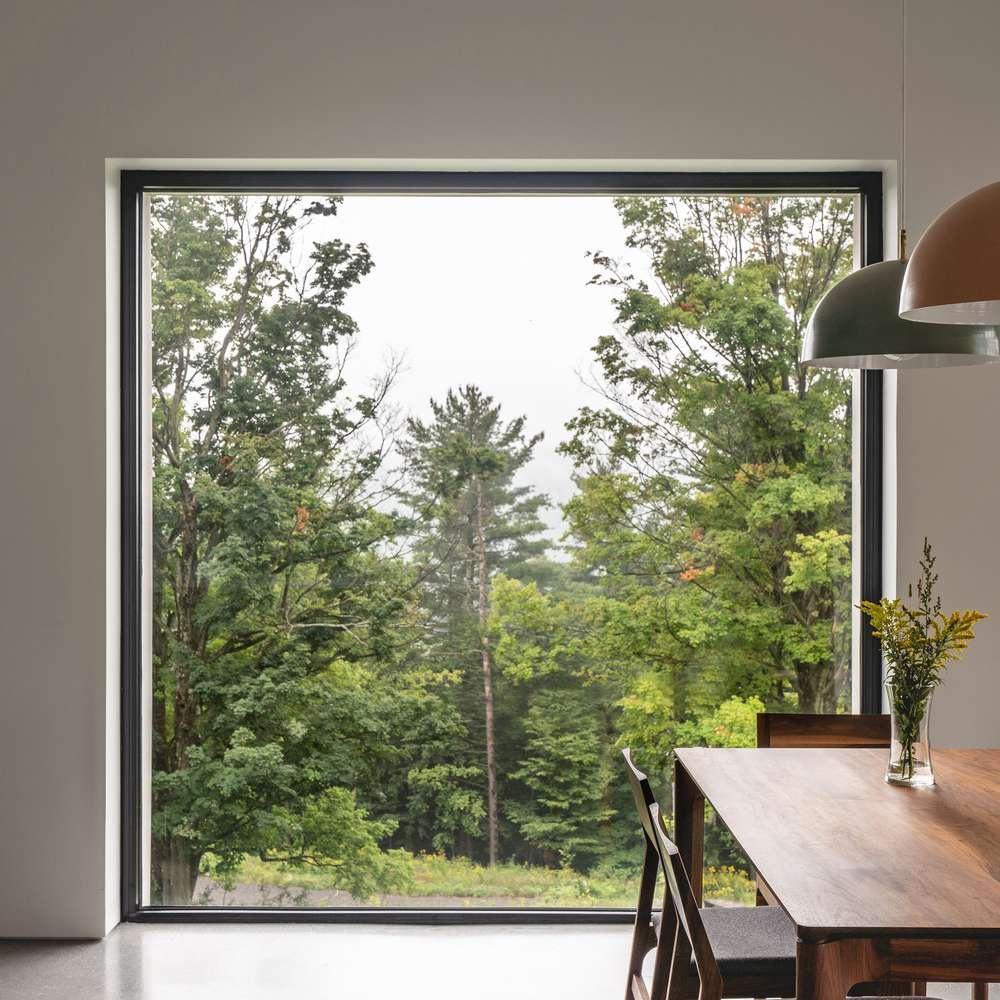 Window framing a vew