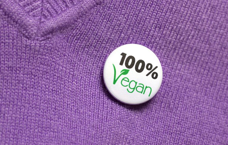 100% Vegan statement of lifestyle choice