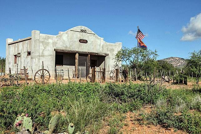 The jail in Gleeson, Arizona
