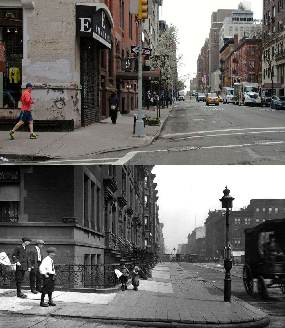 Lexington before and after