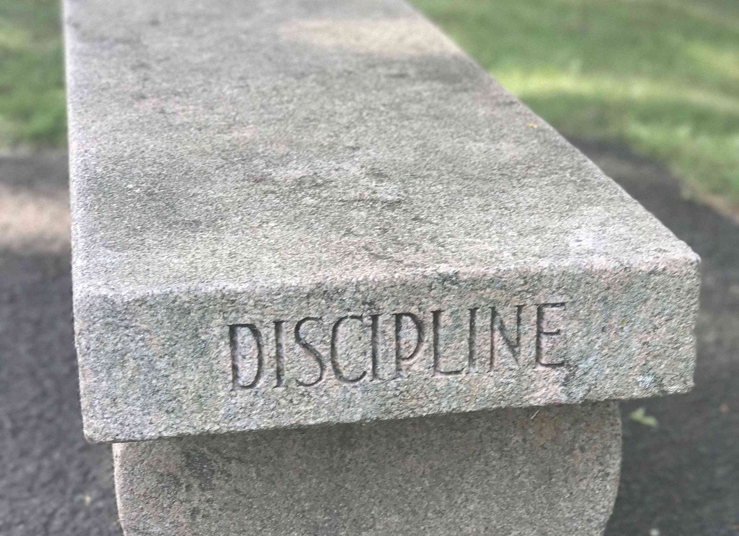 discipline bench