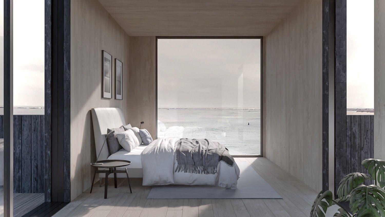 view from bedroom ground floor