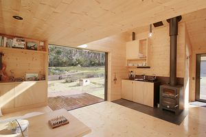 Bruny Island Hideaway by Maguire + Devin interior