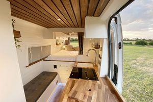 Stacia van conversion Vanlife Conversions Ltd. interior