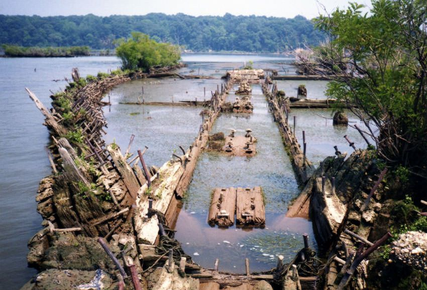 Mallows Bay shipwreck