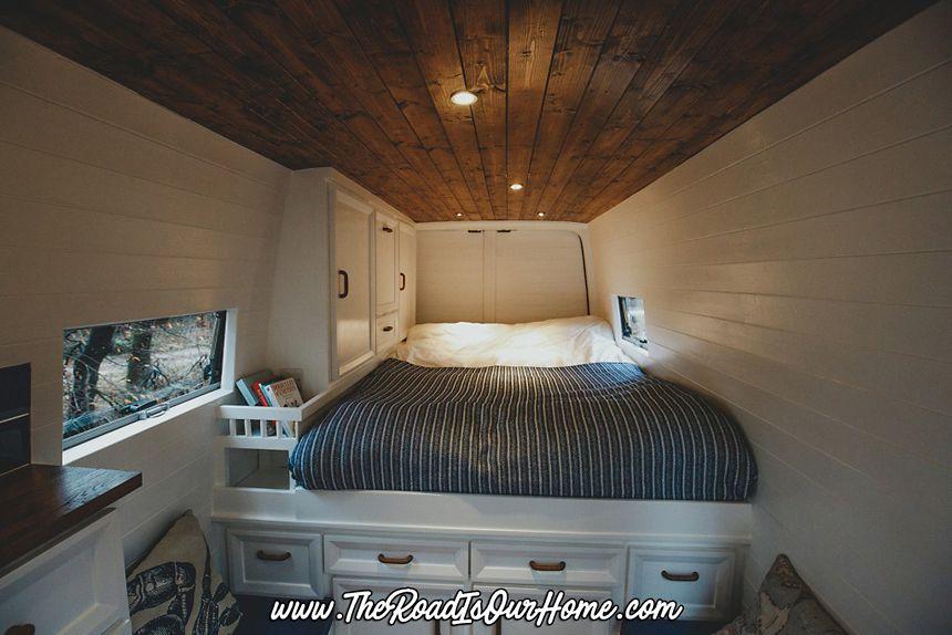 Bed in the van