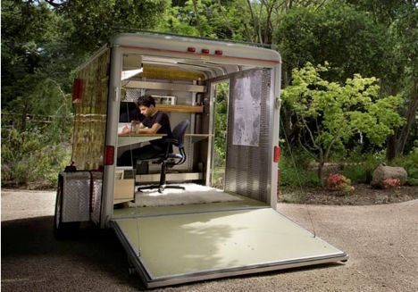 mobile office design xs/la photo