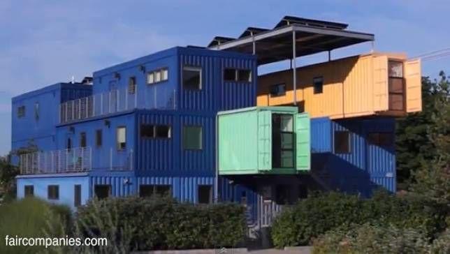 El edificio de oficinas de Rhode Island es una obra maestra de la cargotectura [Video]