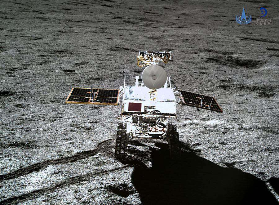 Yutu 2 rover China moon