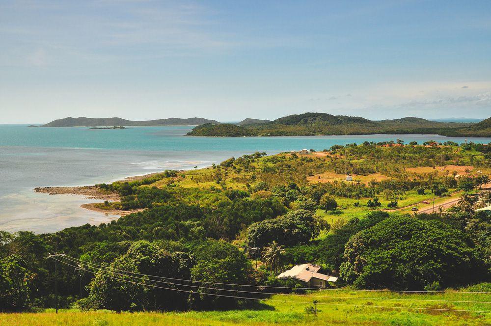 Torres Strait Islands in the Pacific Ocean
