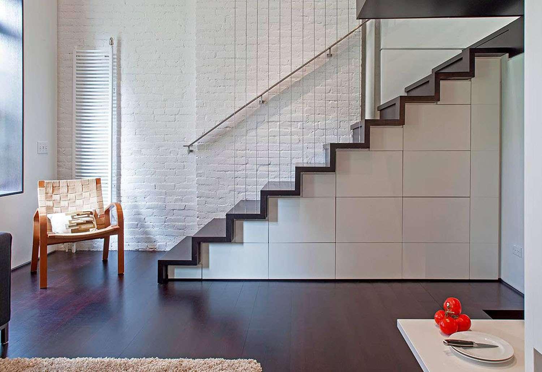 manhattan microloft specht architects stair case