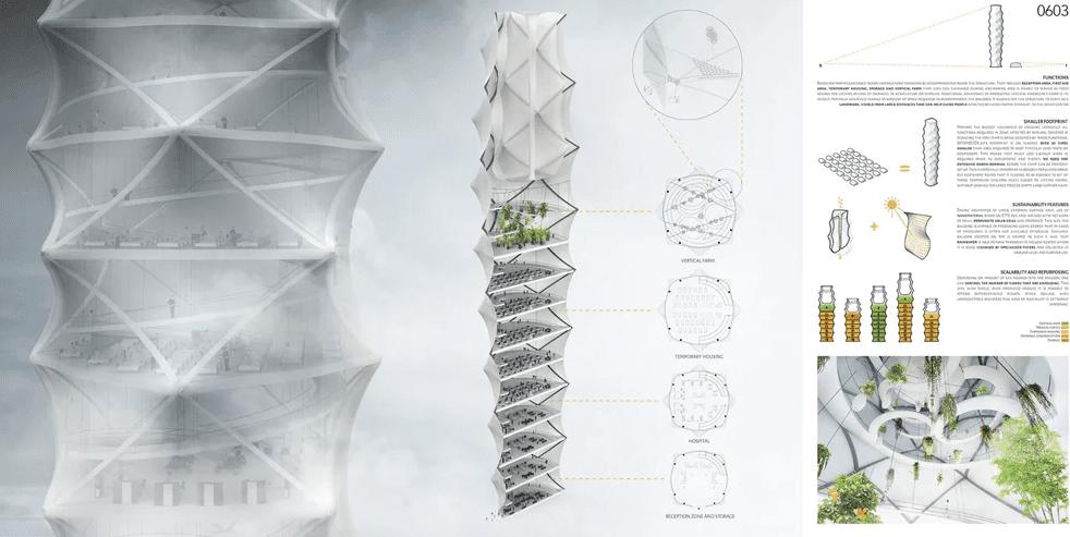 Skyshelter.zip, winner of the 2018 eVolo Skyscraper Design Competition