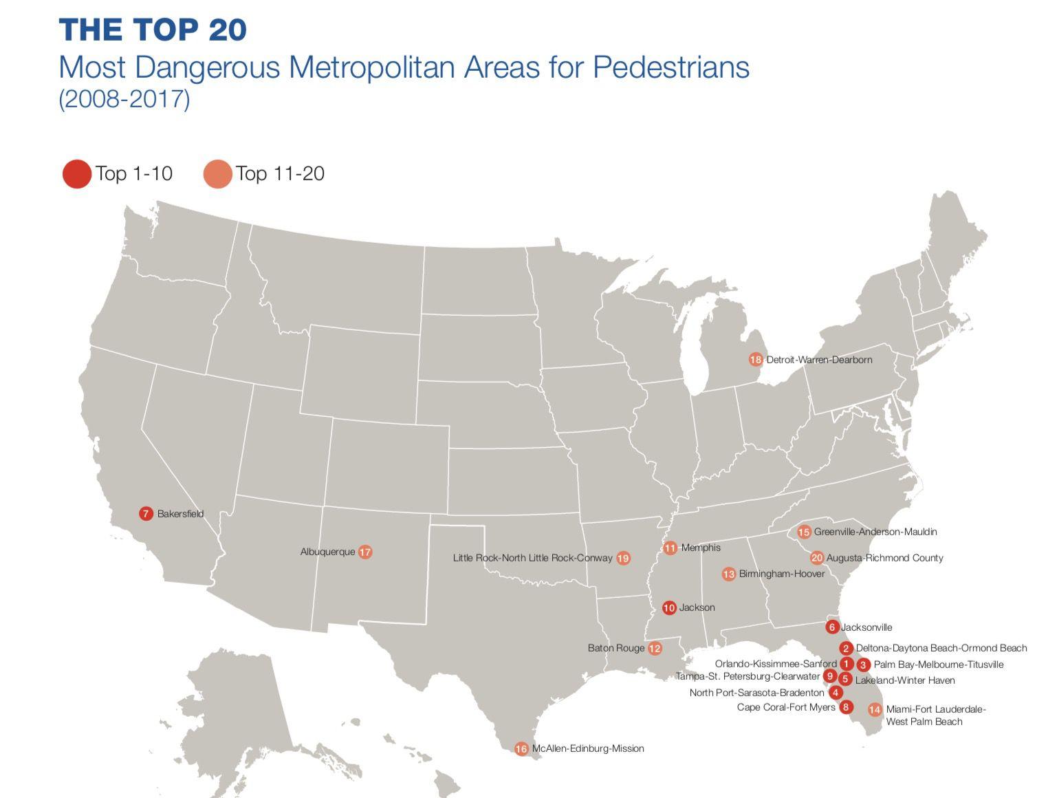 Top 20 cities