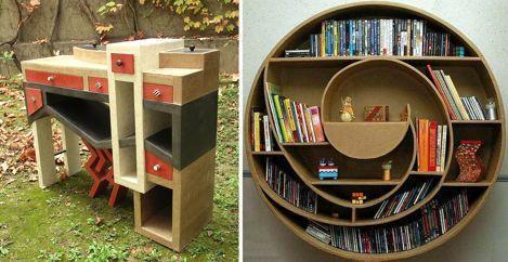 Haz tus propios muebles de cartón