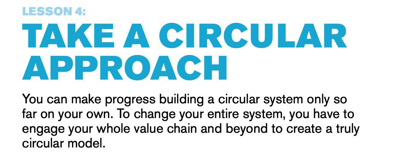 Circular approach