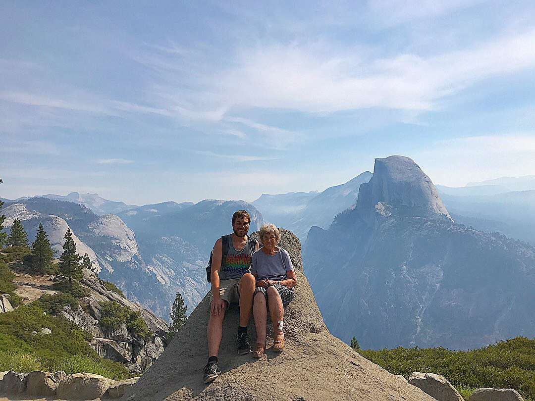 Hanging out at Yosemite National Park.