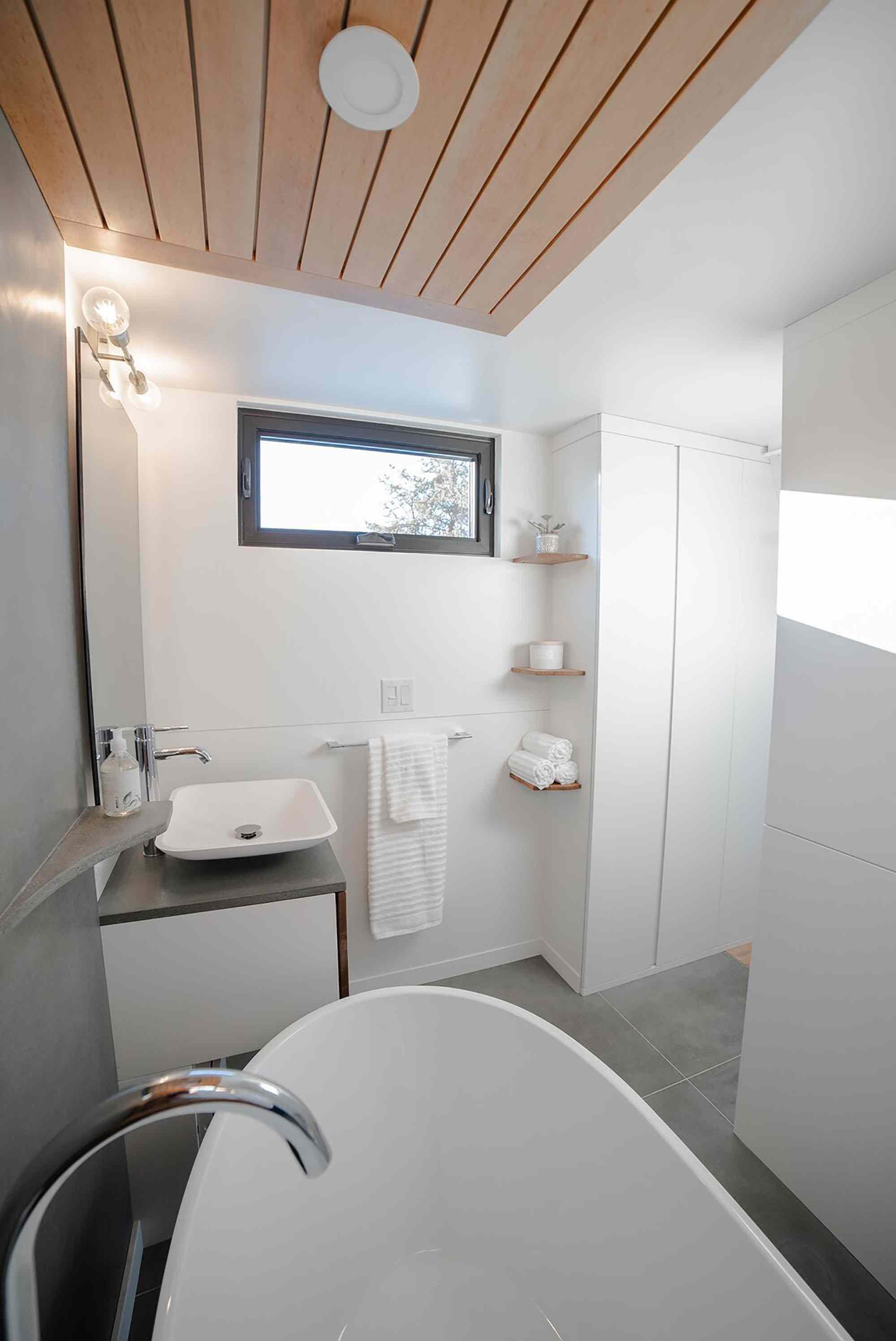 Fritz Tiny Homes bathroom