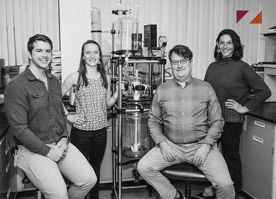 The Nth Cycle team in the lab.