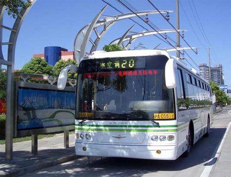 sinautec ultracapacitor electric bus photo