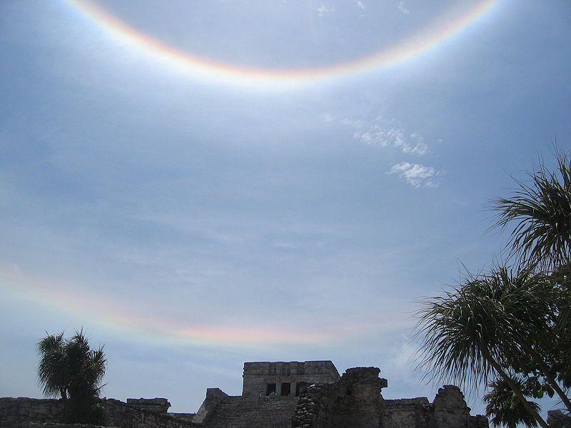 circumhorizontal arc photo in Mexico