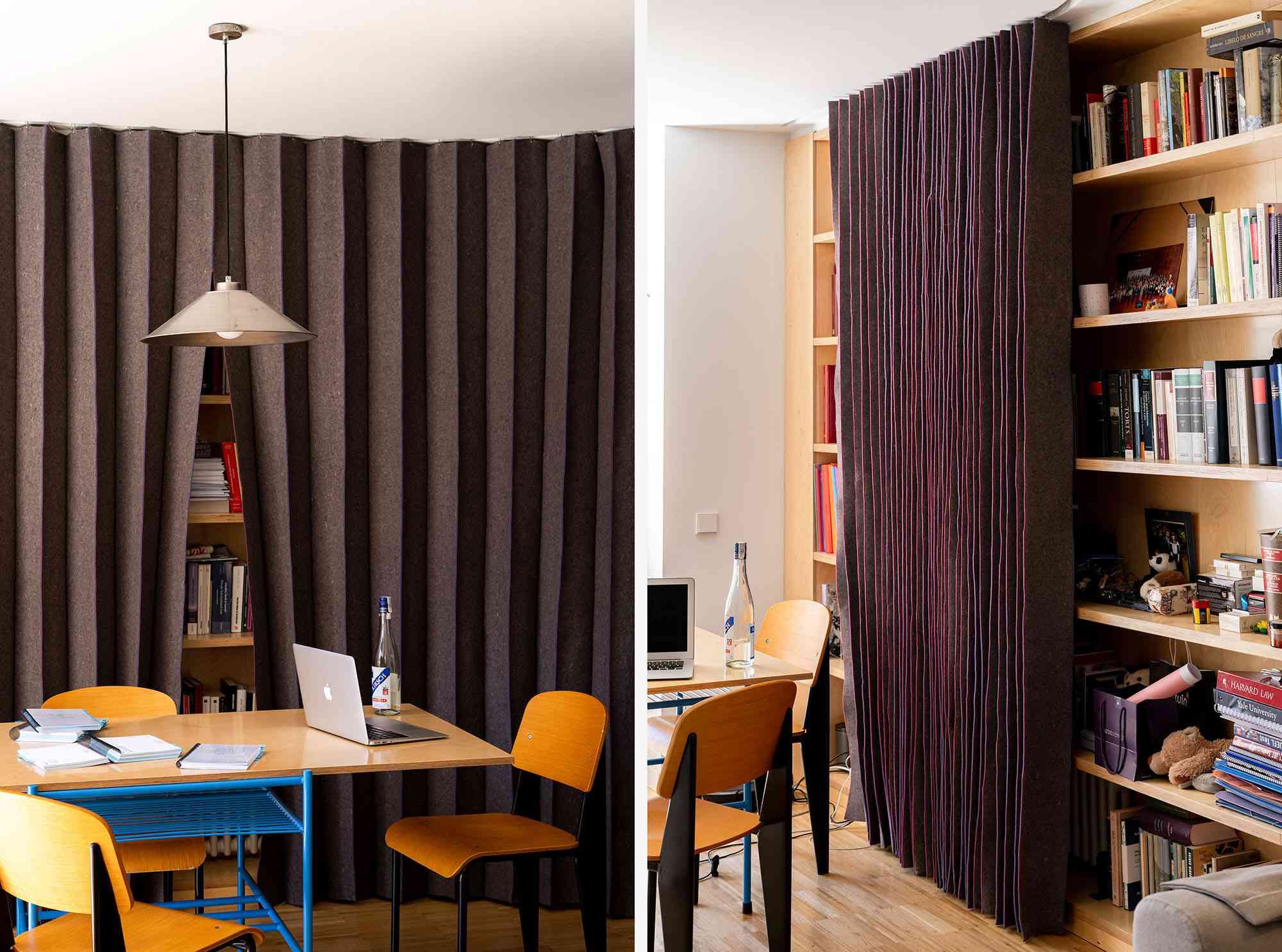JM55 microapartment renovation by BURR Studio study