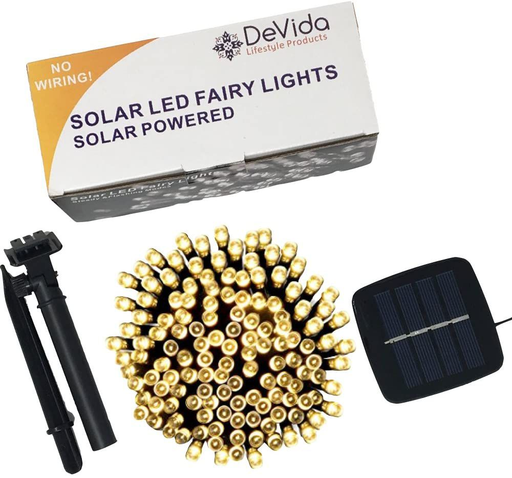 DeVida Solar LED Fairy Lights