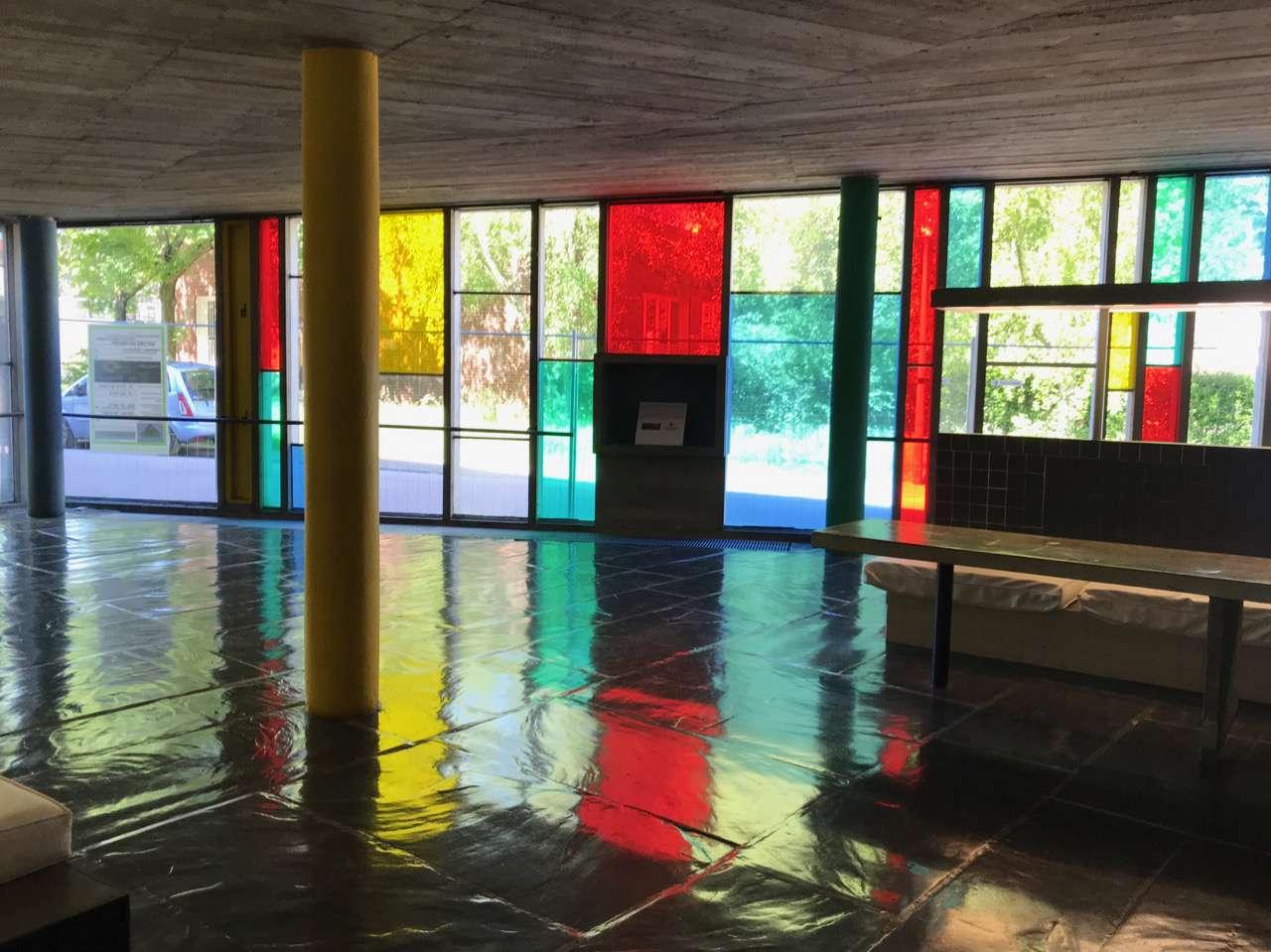 Brazilian Pavilion has undulating floor