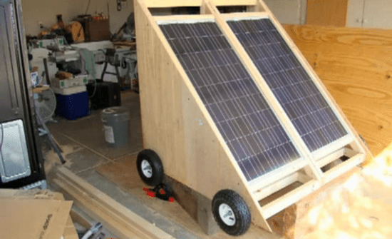 how to build a solar generator photo