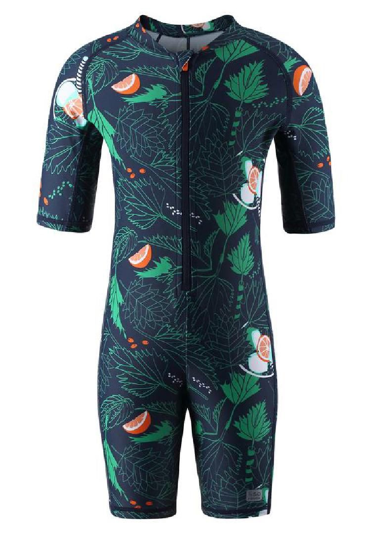 Unisex SunProof One-Piece Swimsuit with UPF 50+ Protection