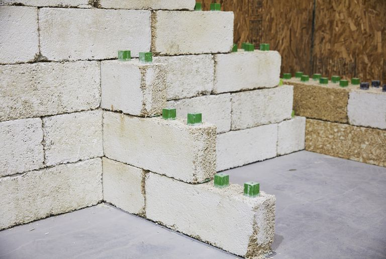 Building Bricks Made From Industrial Hemp