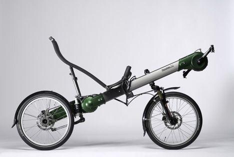 Flevobike green machine maintenance free bike photo