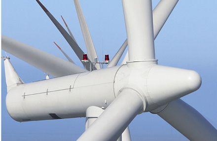 Siemens Turbine On Danish Soil photo