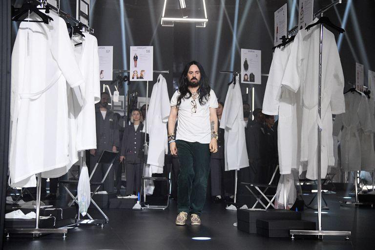 Alessandro Michele, creative director at Gucci