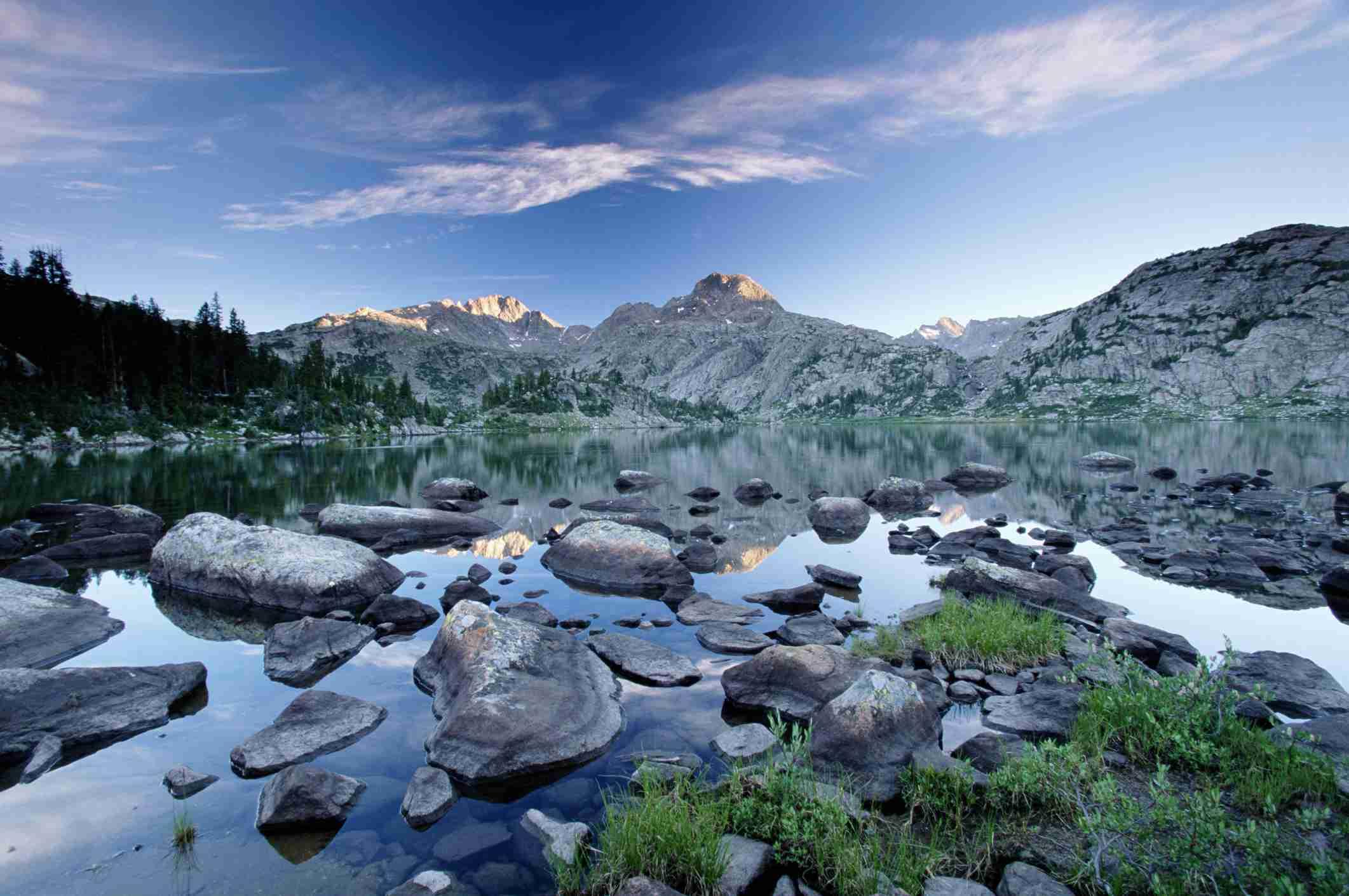 Bridger-Teton National Forest in Wyoming