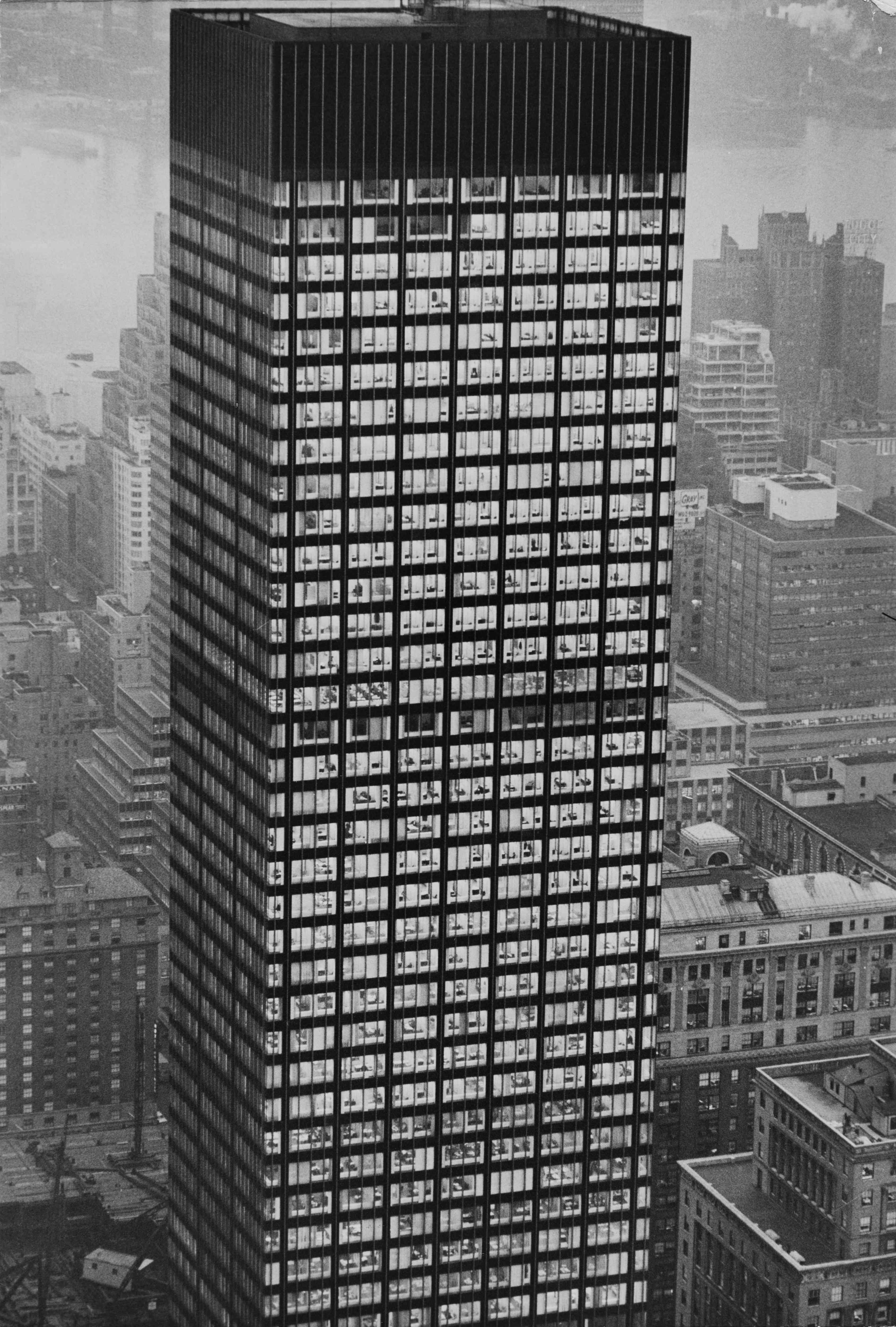 270 Park Avenue, also known as the JPMorgan Chase Tower and formerly the Union Carbide Building