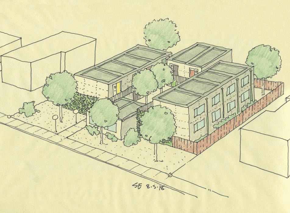 Modular micro-dwellings for the homeless, Seattle