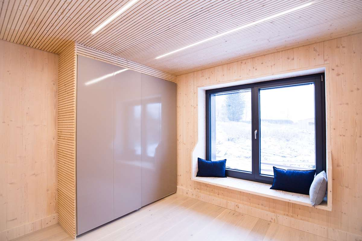 Larch Corner Bedroom