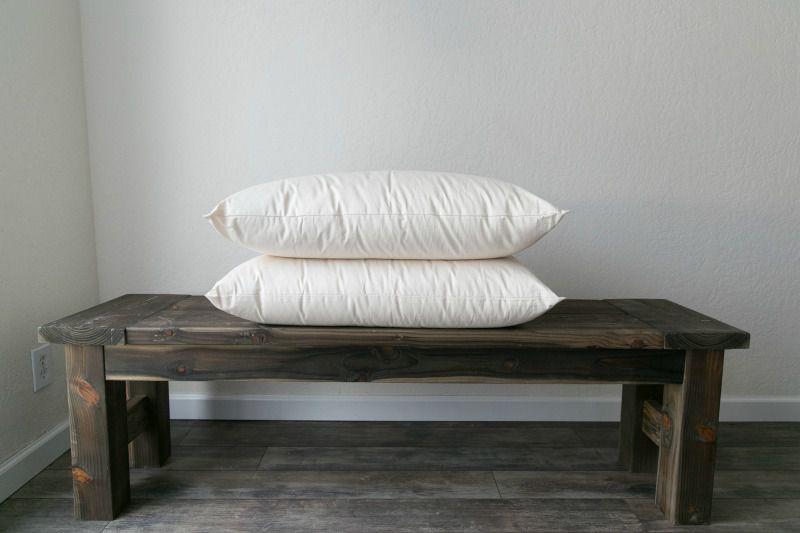 Sherherd's Dream Ashland Organic Wool Pillow