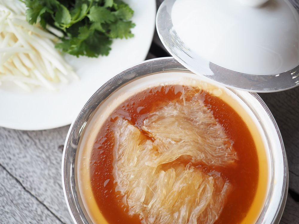 Many shark species are going extinct in large part to the shark fin trade.