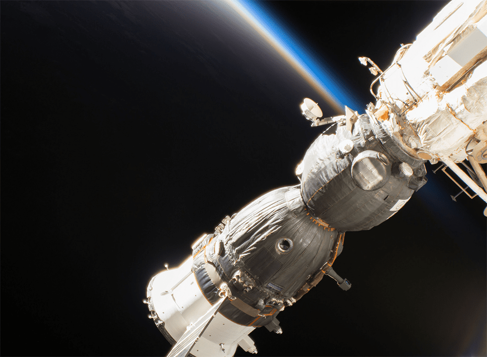 The Soyuz MS-09 crew spacecraft docked to the International Space Station was found to be the source of the small leak in air pressure.