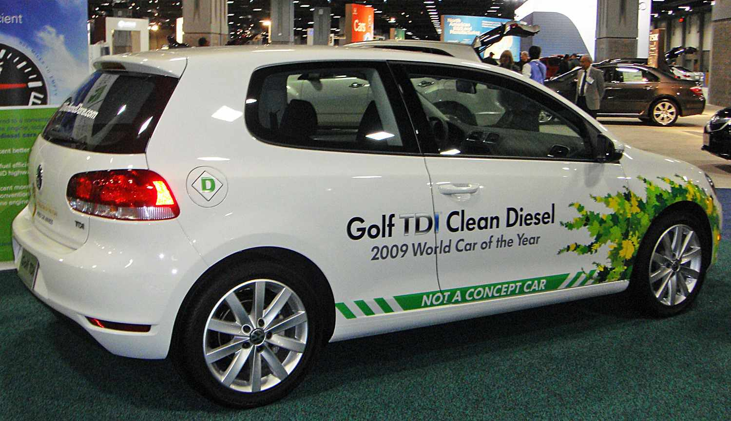 VW's Golf TDI was the Green Car of the Year in 2009