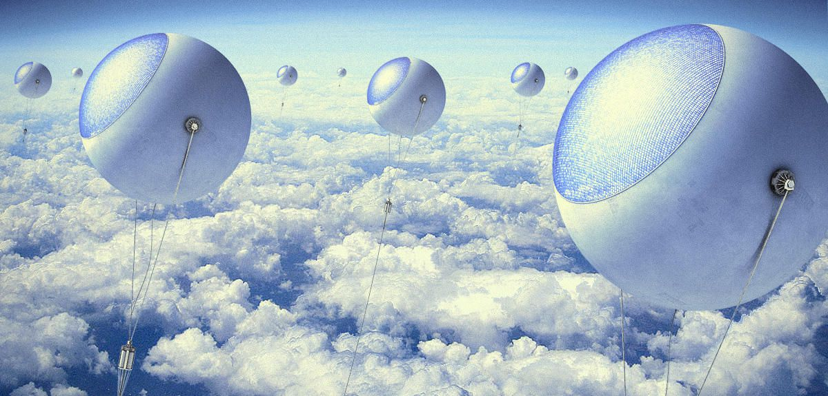 High-Flying Solar Balloons Could Produce Clean Electricity Night and Day