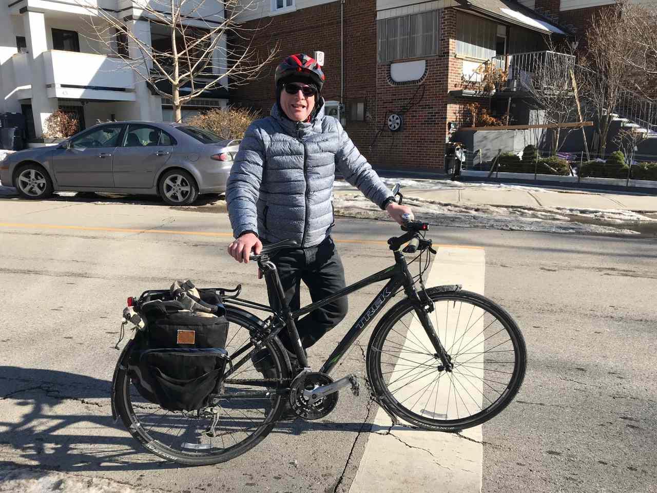 Lloyd ALter and bike
