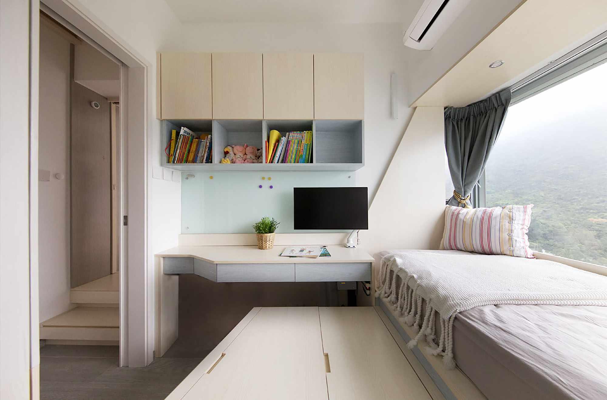 Smart Zendo micro-apartment by Sim-Plex Design Studio son's room